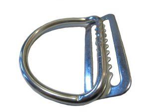 Welded D-ring 45°