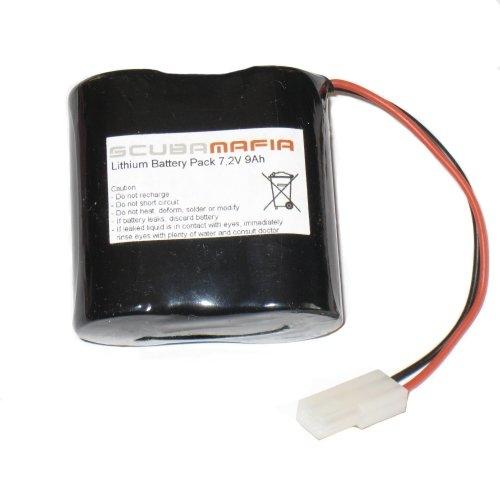 Lithium battery for Megalodon