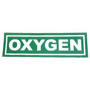 Oxygen sticker, big