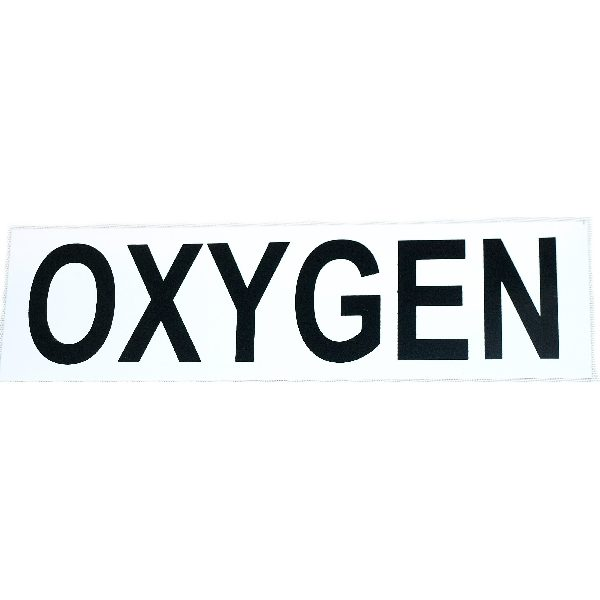 Oxygen sticker, small