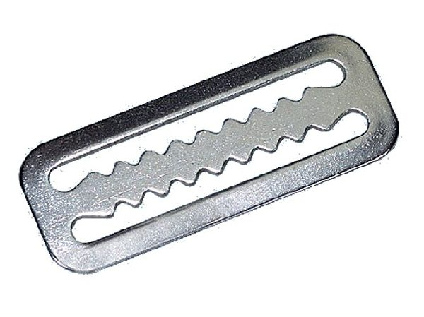 Belt stop serrated, SS