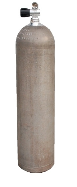 Messer AL80 cylinder + valve